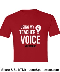 Teacher Voice T-Shirt Design Zoom